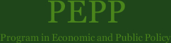 PEPP|Program in Economic and Public Policy